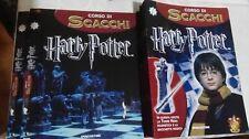 Scacchiera completa+accessori Harry Potter Corso di scacchi 47 uscite 2006 (MAF)