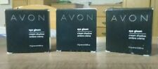 Avon Eye Gleam Shadow 1 Each Aquamarine Olive Branch and Smokey Plum NIB