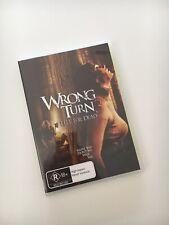 Wrong Turn 3 - Left For Dead (Region 4, DVD) Horror Like New!