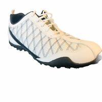 Footjoy Superlites Women's Spikeless Golf Shoes Size 7.5 M White Black 98951