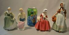 New ListingRoyal Doulton Porcelain Figurine Lot - Hn 2211, Hn 2262 , Hn 1955 , Hn 2057