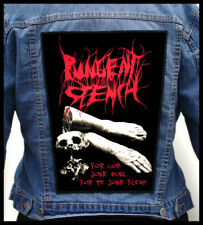 PUNGENT STENCH - For God Your Soul...  --- Huge Jacket Back Patch Backpatch