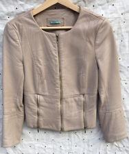 KOOKAI bone leather jacket size 40 EUC!'