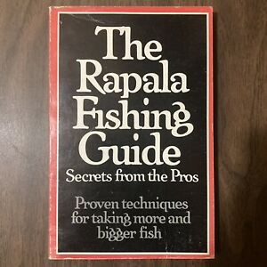 VTG 70s Rapala Lure Fishing Guide Book 1st Ed.  Secret Pro Fish Tips Knot Tying