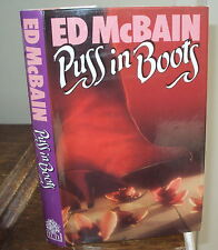 1987 - PUSS IN BOOTS by ED MCBAIN - 1st EDITION HB DJ