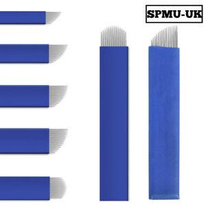 Microblading Needles NANO 0.18 Permanent Makeup Manual Eyebrow Blade - Flexible
