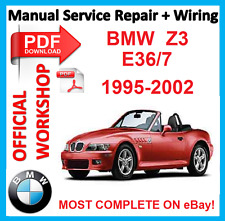 # OFFICIAL WORKSHOP MANUAL service repair BMW Z3 E36/7 1995 - 2002
