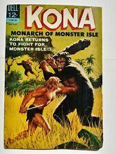 KONA #10 MONARCH OF MONSTER ISLE  LOWER MID-GRADE