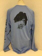 Men's Columbia Pfg Omni-Shade Terminal Tackle Long Sleeve Fishing Shirt Sz L