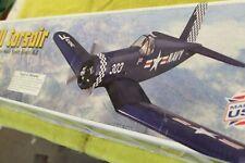 "Great Planes, F4U Corsair, Vintage R/C, Balsa Plane Kit, 56"""