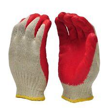 Premium Quality Red Latex Coated Working Glove 8-Pairs per pack