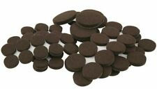 SoftTouch 80 Piece Pack Brown Pad Slider Self-Stick Heavy Duty Furniture Felt