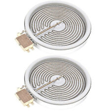 AEG Genuine Oven Cooker Ceramic Hotplate Element Single 180mm 1800w - Pack of 2