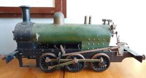 Superb Antique Bespoke 21 Inch 54cm Model Steam Train Locomotive Engine A/F