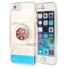 Liquid Oil Drops Wheel Magic Maze Transparent Case Cover Skin for iPhone 5/5s SE