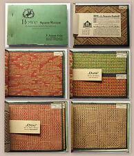 Howe Spannmatten Musterbuch F. Schade & Co Dresden 11 Mattentypen Wandbezug 1935