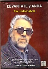 LEVÁNTATE Y ANDA TEXTO LEÍDO POR FACUNDO CABRAL AUDIOLIBRO (1) CD NEW/SEALED