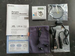 Sony Hi-MD MiniDisc Walkman Personal Mini Disc Player / Recorder MZ-NH700