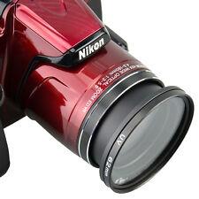 Kiwifotos 62mm Lens Filter Adapter Ring for Nikon Coolpix P510 P520 P530 Camera