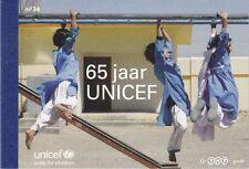 Países Bajos 2011 Prestige marcas cuaderno 34 MH 82 ** 65 años de niños unicef socorro