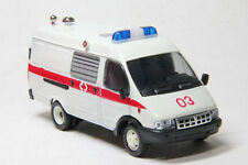 Gazel Russian AMBULANCE MicroBus 1:43 diecast scale model
