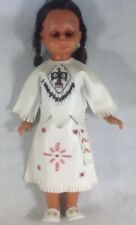"Indian Doll Leather And Beaded Outfit 16"" HB4"