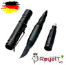 Tactical Pen Kubotan Glasbrecher Stift Selbstverteidigung LED Wolfram Stahlkopf