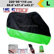 US Stock L Motorcycle Cover All Weather Waterproof Universal Sport Bike Scooter