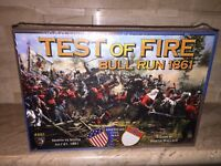MAYFAIR GAMES TEST OF FIRE BULL RUN 1861 CIVIL WAR GAME