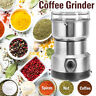 110V Electric Spice Coffee Nut Seed Herb Grinder Crusher Mill Blender Steel US