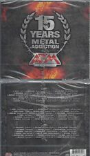 CD--VARIOUS--15 YEARS-METAL ADDICTION| BOX-SET