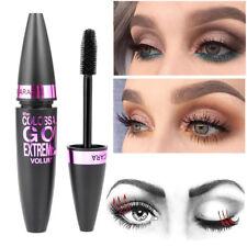 Cosmetic Black Mascara Makeup Eyelash Waterproof Extension Curling Eye Lashes UK