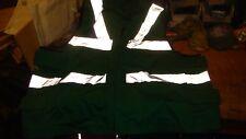 royal navy aircraft carrier deck crew zip front  surcoat in emerald green