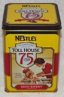 NESTLES 75th ANNIVERSARY TOLL HOUSE COOKIE TIN - 2014, NEW!