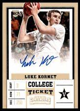 2017-18 Panini Contenders Draft Picks #107 Luke Kornet Auto