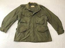 Vintage US Army Vietnam Era 1961 Sateen Field Jacket Coat Combat OG 107 Size M