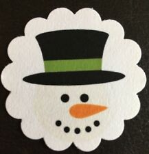 **60**  Christmas Snowman ⛄️ Party  Favor Gift Tags Favor Tags Treat Tags