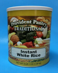 Emergency Essentials Instant White Rice ~ Emergency Food ~ The Wise Prep