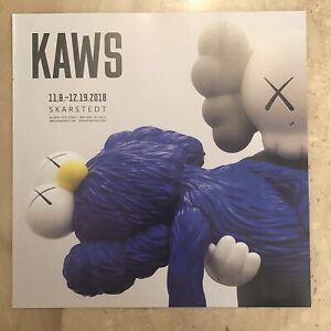 KAWS Seeing Watching Skarstedt Gallery Show Magazine Advertisement New York