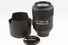 Nikon NIKKOR 105mm f/2.8G AF-S VR IF-ED Micro MACRO Lens EXC+ COND!