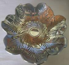 Vintage Silvertone Leaf Design Bowls -  Set of 2