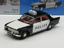 1/43ème FORD : ZEPHYR 6 Mk III POLICE WEST RIDING CONSTABULARY VANGUARDS VA46000