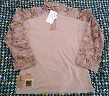 NWT USMC Desert Frog Shirt, AUTHENTIC, XTRA LARGE - REGULAR