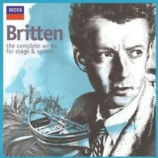 Various Artists - Britten: Complete Works for Stage & Screen / Various [New CD]