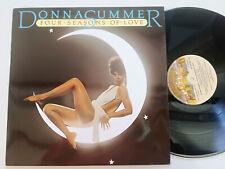 DONNA SUMMER  Four Seasons Of Love SPAIN LP VINYL 1979 EX