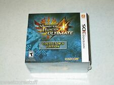 Monster Hunter 4 Ultimate Collector's Edition Nintendo 3DS Sealed FREE SHIPPING