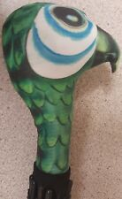 SMALLER  Mary Poppins inspired  parrot head UMBRELLA  Approx 27inch long