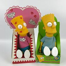"Vintage 1990 Simpsons Collectible Bart Rag Dolls Valentines Day ""Cooties, Man!"""