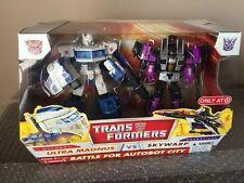Hasbro Transformers Classics Ultra Magnus vs Skywarp RARE Target Exclusive MISB