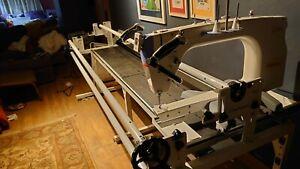 Grace Q'nique 21 Quilting Machine with Continuum 10' Frame